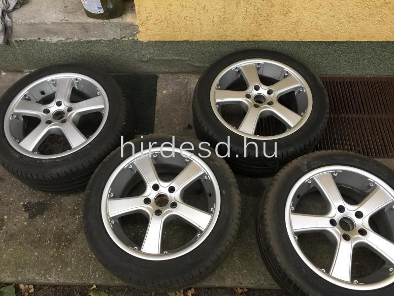 Audi felni nyári gumival - 1
