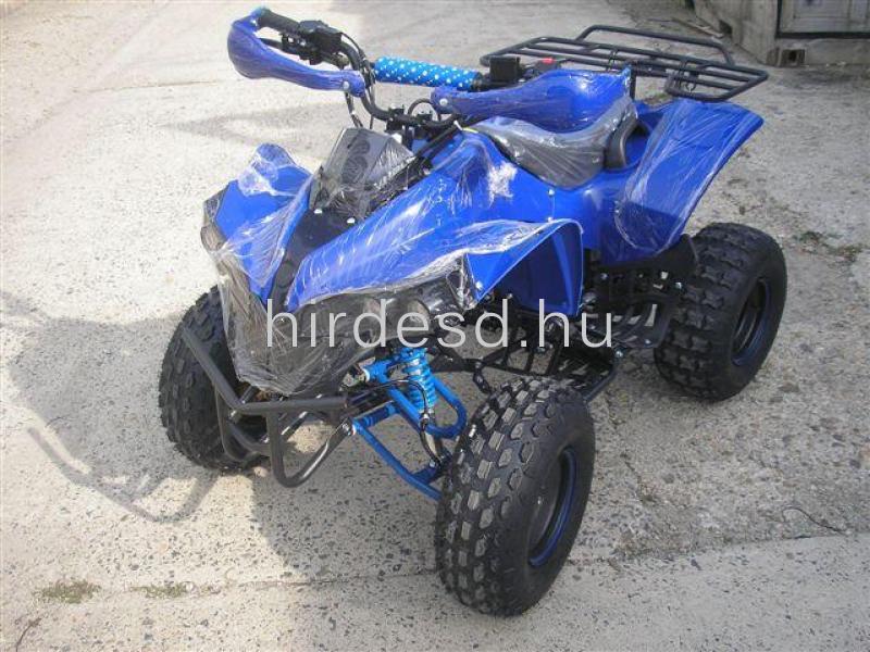 KXD 008 gyerek quad 125ccm kék színben! Több min200 jármű raktáron - 1