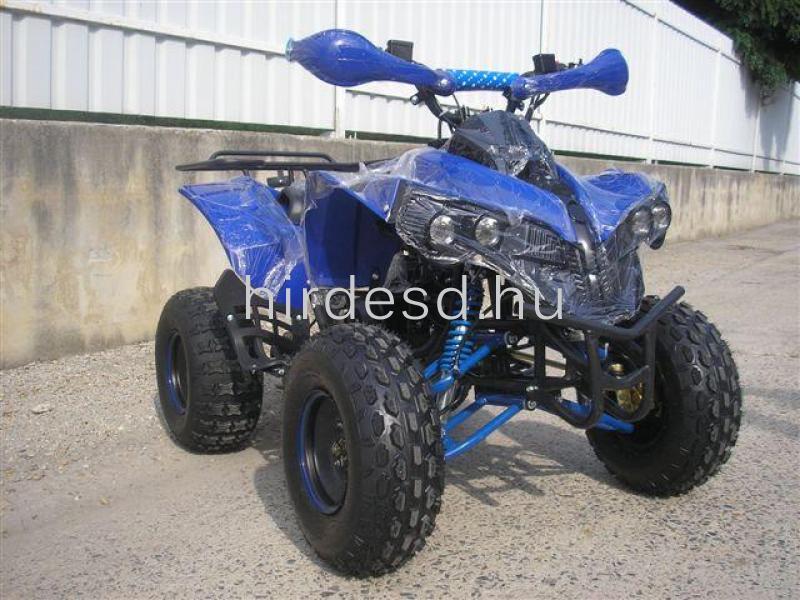 KXD 008 gyerek quad 125ccm kék színben! Több min200 jármű raktáron - 2