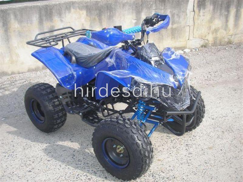 KXD 008 gyerek quad 125ccm kék színben! Több min200 jármű raktáron - 3