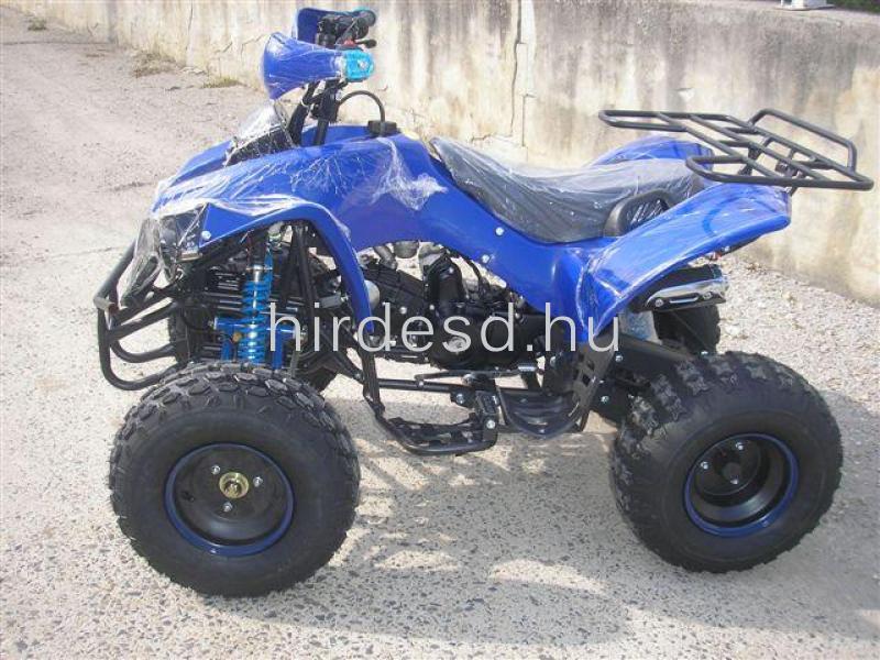 KXD 008 gyerek quad 125ccm kék színben! Több min200 jármű raktáron - 4