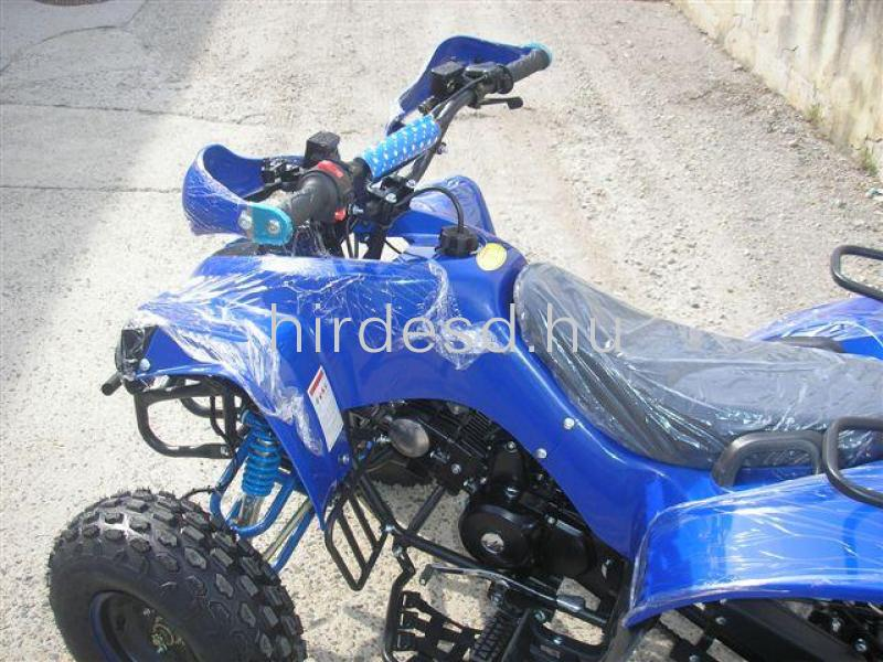 KXD 008 gyerek quad 125ccm kék színben! Több min200 jármű raktáron - 5
