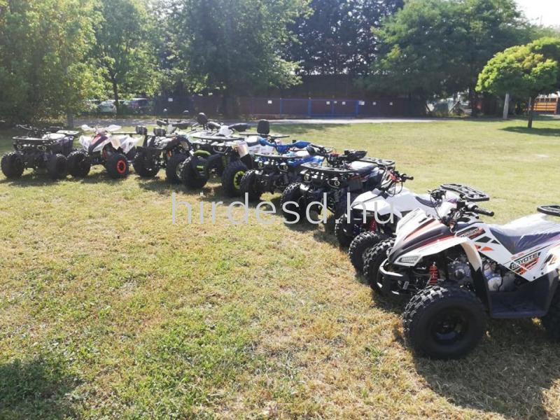 KXD 008 gyerek quad 125ccm kék színben! Több min200 jármű raktáron - 6