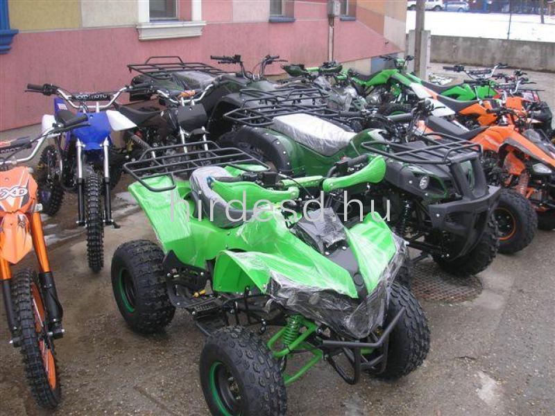 KXD 004  gyerek quad 125ccm többféle színben! Több min200 jármű raktáron - 2